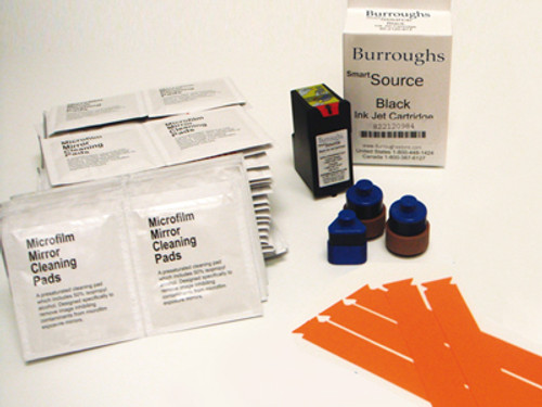 SmartSource Open Starter Kit. Ink cartridge, feed rollers & separator assembly, and cleaning kit 750940885
