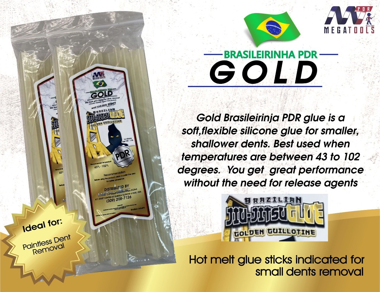 Brazilian Gold PDR Glue