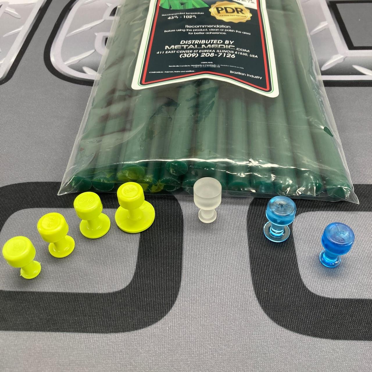 MEGA Power Green PDR Glue w/ BLACK PLAGUE, METALMEDIC Tabs