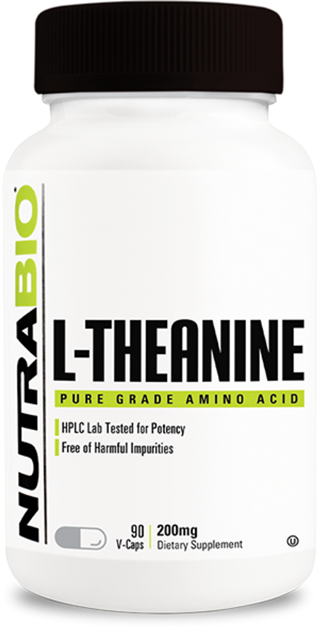 L-Theanine (200mg) - 90 Vegetable Capsules
