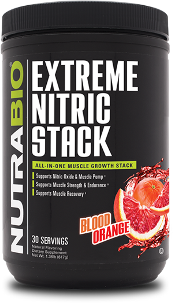 Extreme Nitric Stack (Blood Orange)