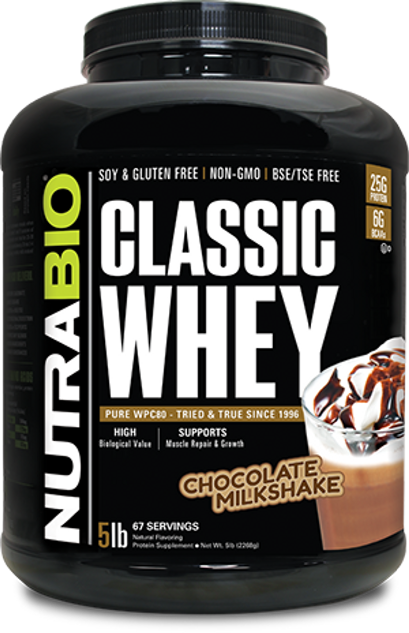 Classic Whey Protein - 5 Pounds (Chocolate Milkshake)
