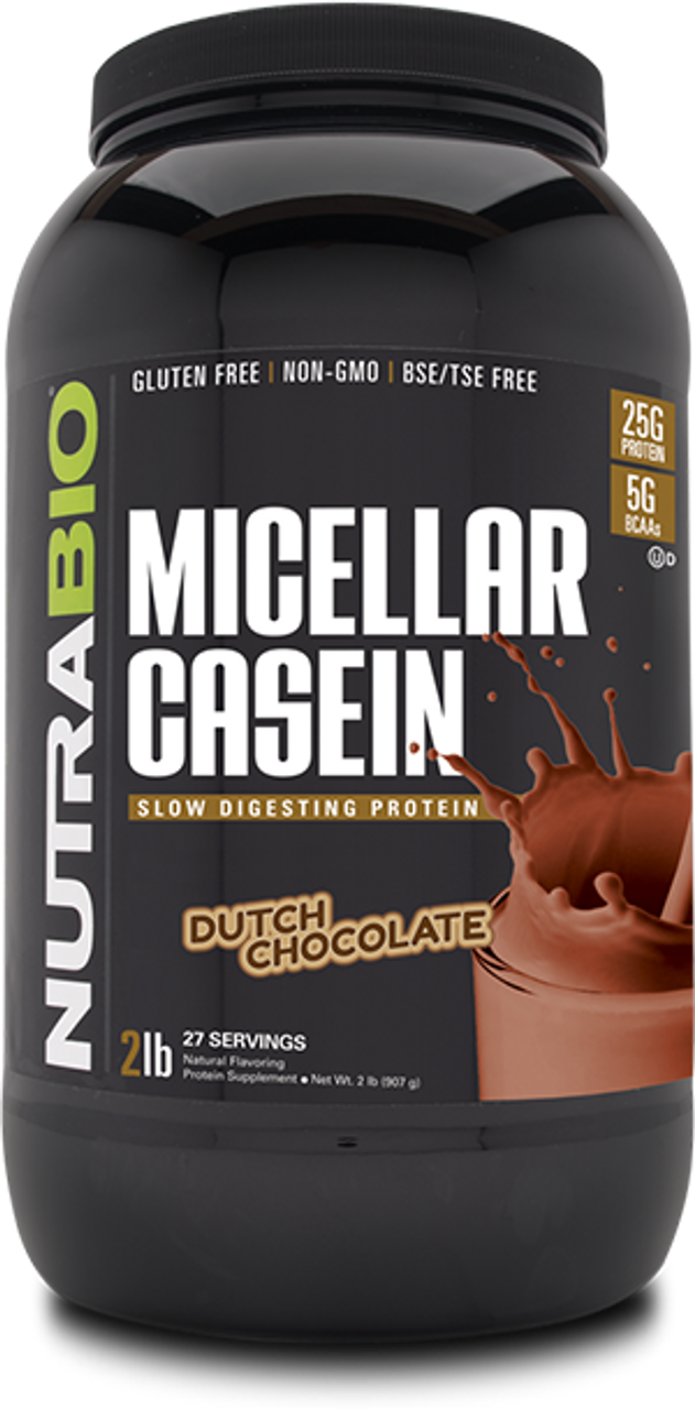 Micellar Casein - 2 Pounds (Dutch Chocolate)