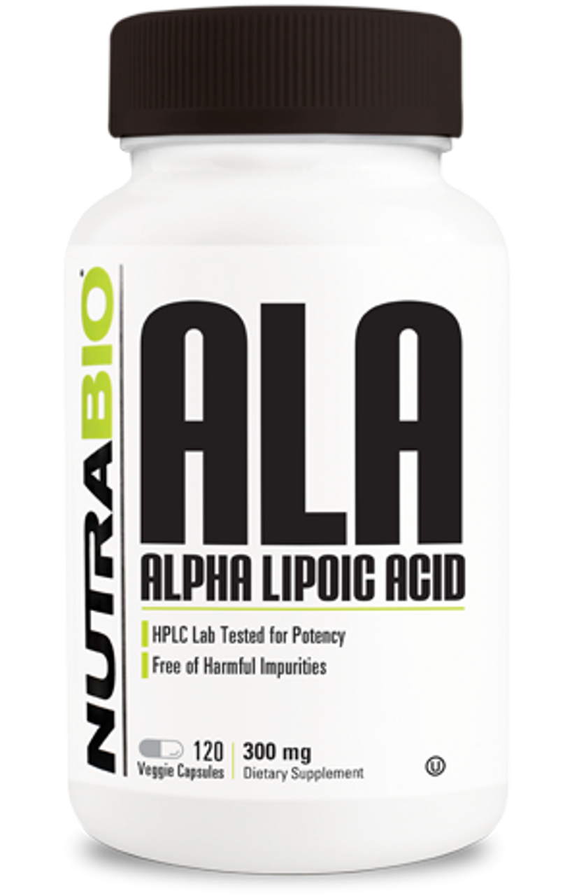 Alpha Lipoic Acid 300mg - 120 Vegetable Capsules
