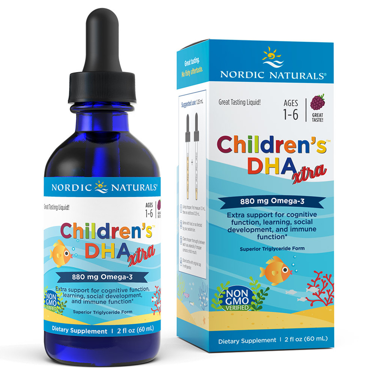 Children's DHA Xtra -berry punch