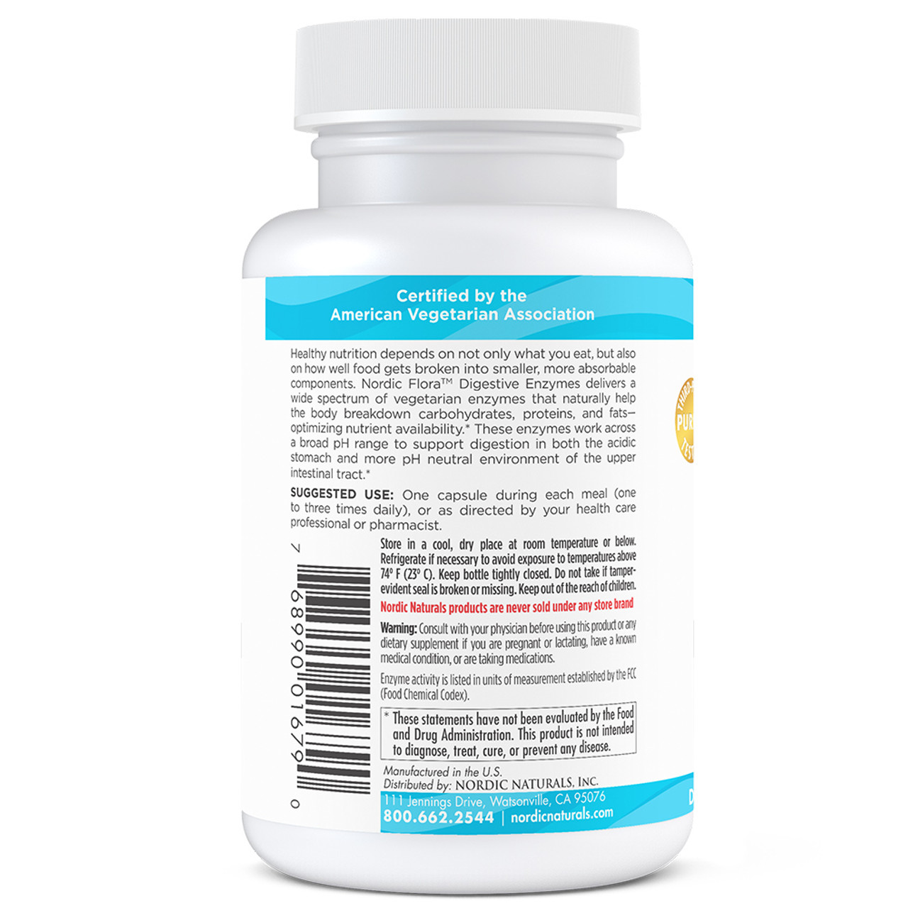 Nordic Flora Digestive Enzymes Unflavored