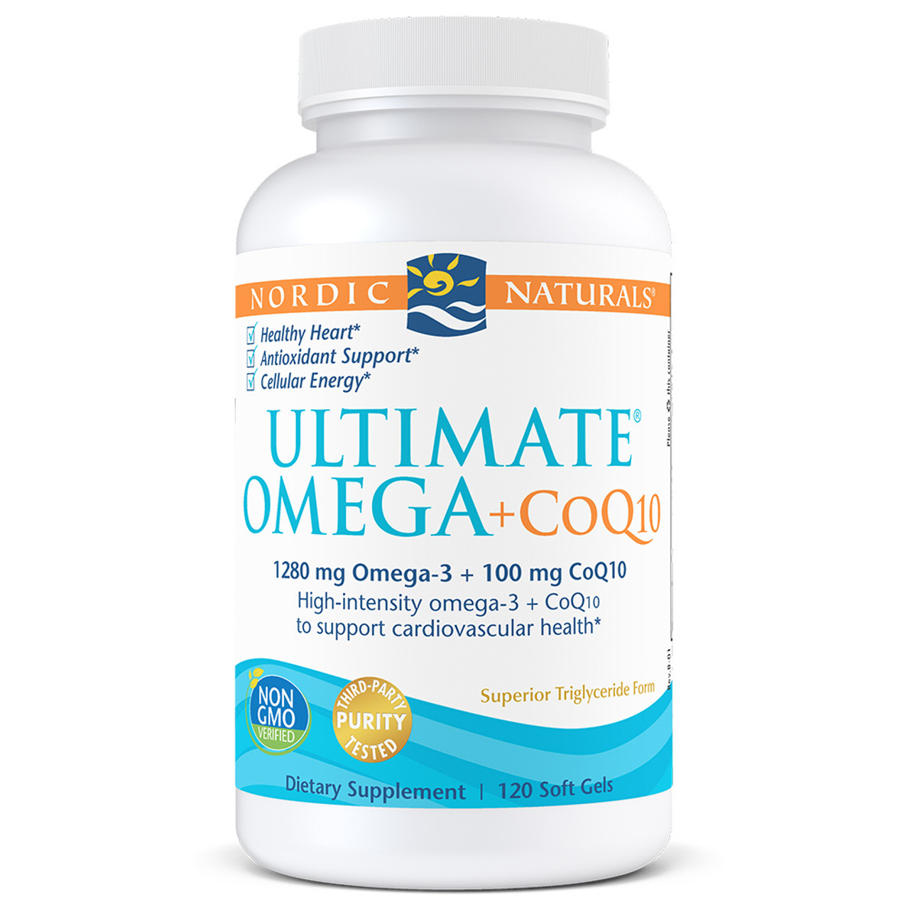 Ultimate Omega Plus CoQ10 Unflavored