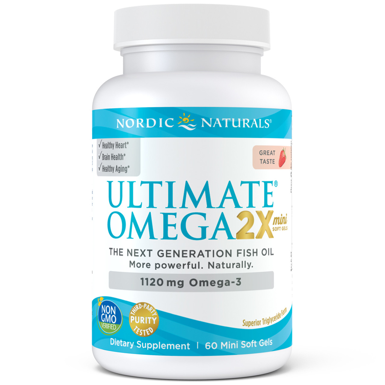 Ultimate Omega 2x Mini Strawberry