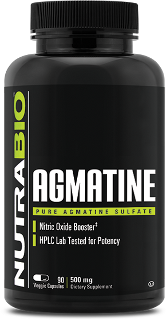 Agmatine Sulfate (500mg) - 90 Vegetable Capsules