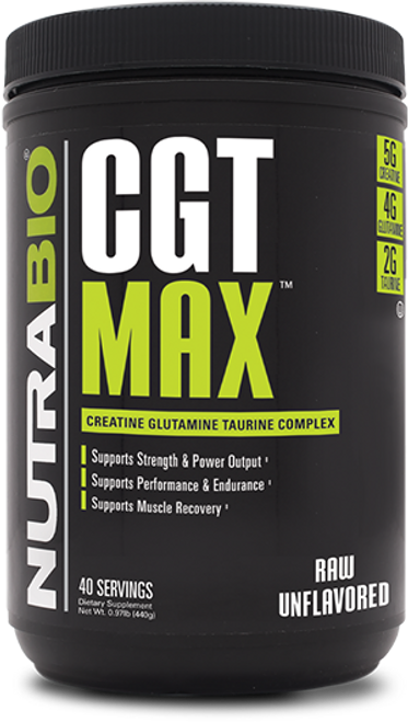 CGT-MAX Powder - (Unflavored)