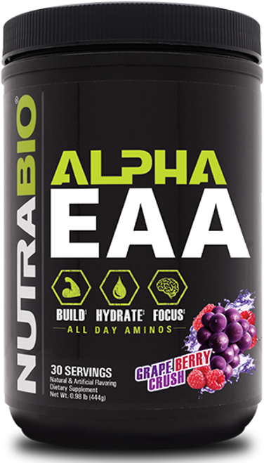 Alpha EAA - 30 Servings (Grape Berry Crush)