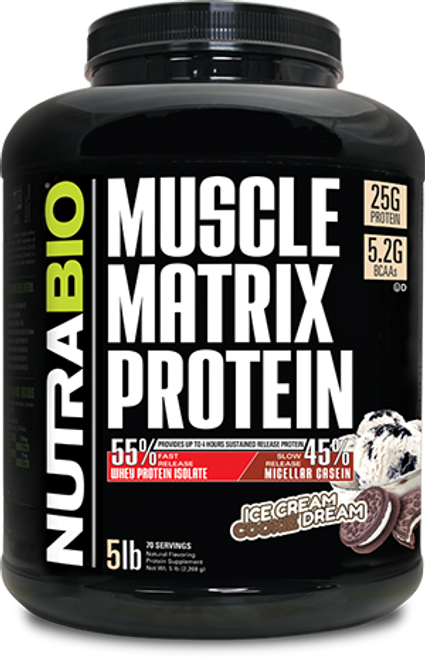 Muscle Matrix - 5 Pounds (Ice Cream Cookie Dream)