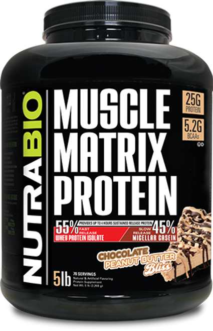 Muscle Matrix - 5 Pounds (Chocolate Peanut Butter Bliss)