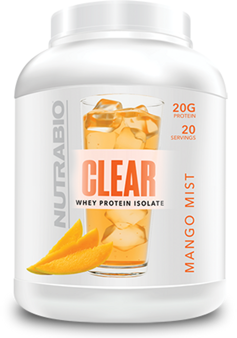 Clear Isolate 20 Servings (Mango Mist)