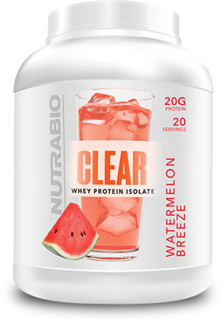 Clear Isolate 20 Servings (Watermelon Breeze)