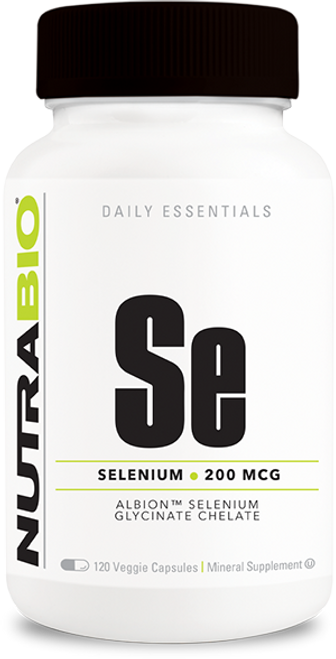 Selenium (200mcg) - 120 Vegetable Capsules