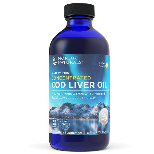 Concentrated Cod Liver Oil Lemon