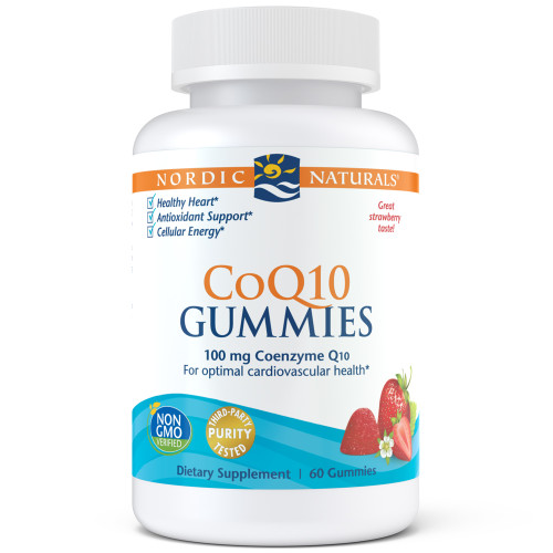 Nordic CoQ10 Gummies Strawberry