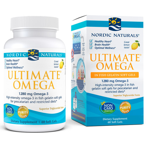 Ultimate Omega Fish Gels Lemon
