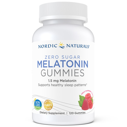 Zero Sugar Melatonin Gummies - raspberry