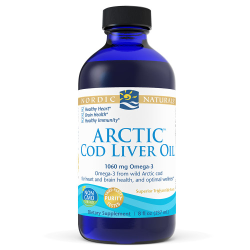 Arctic Cod Liver Oil Soft Gels lemon 8 oz.