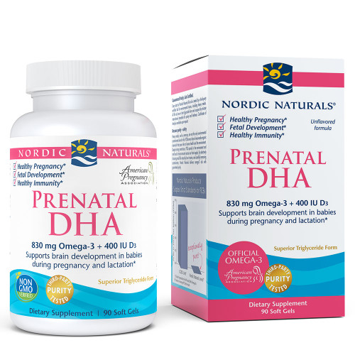 Prenatal DHA Unflavored 90 ct.