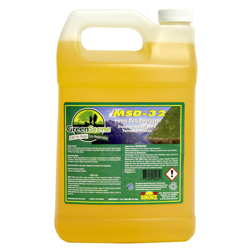 Green Sceen MSD-32 Heavy Duty Detergent: 4-1 Gallons