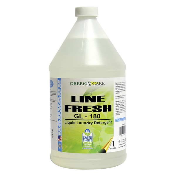 Line Fresh Liquid Laundry Detergent: 4-1 Gallons