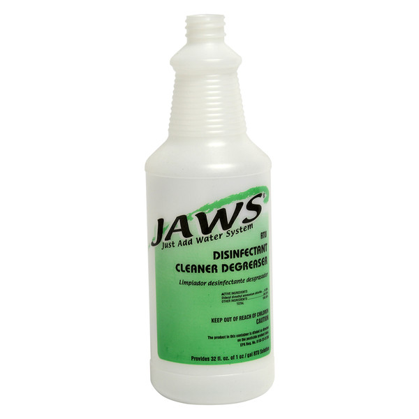 JAWS Disinfectant Cleaner Degreaser Bottle