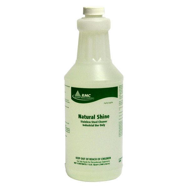 Natural Shine Stainless Steel Cleaner: 6-1 Quarts