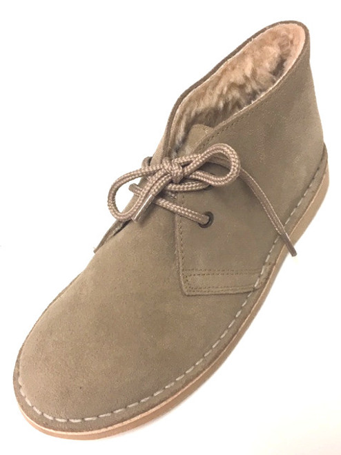 Suede Desert Boots - Toupe
