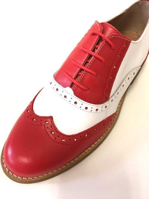 Red/Withe Brogue
