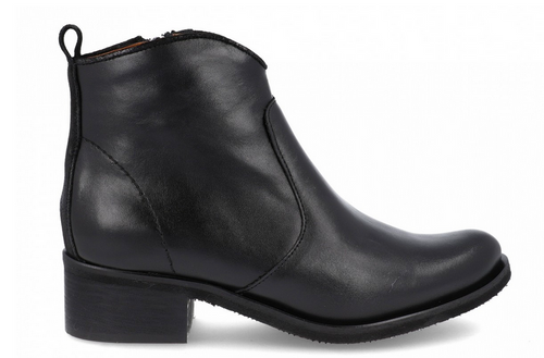 Vida Leather Boots- Black