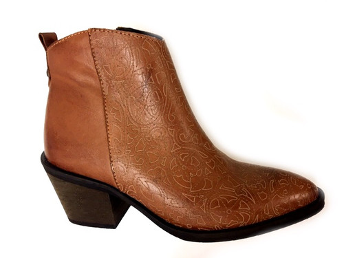 Musgo Leather boots - Tan