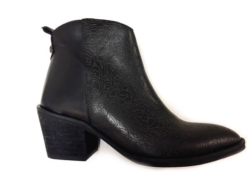 Musgo Leather boots - Black