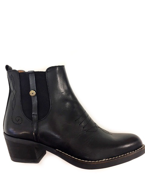 Ankle western back boots