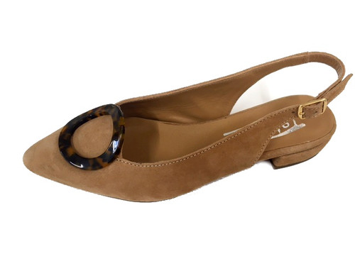 Classic open back shoes- cream