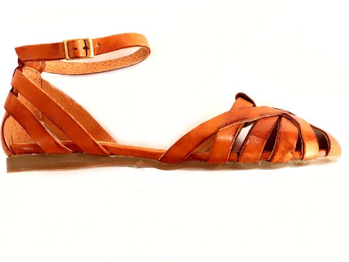 Closed Toe Sandals - Tan