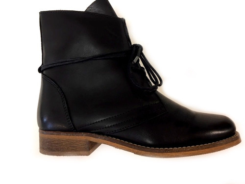 Corkville Leather Boots - Black