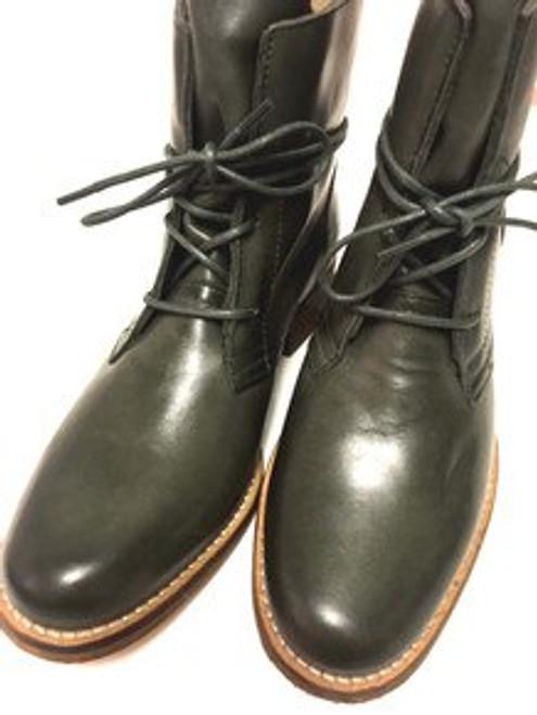 Corkville Leather Boots - Khaki Green