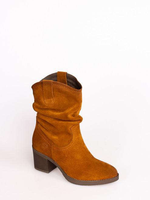 Mid Calf Tan Boots