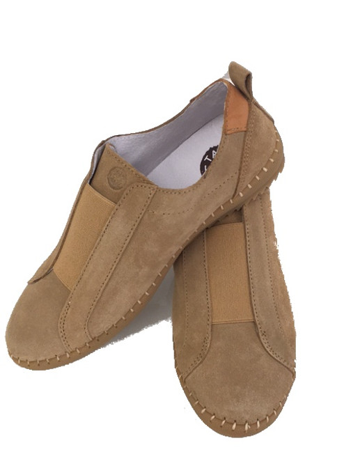 Casual leather shoes - Tan