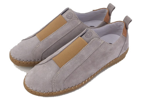 Casual leather shoes - Grey