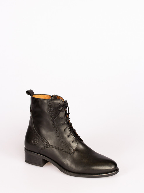 Brogue lace up boots
