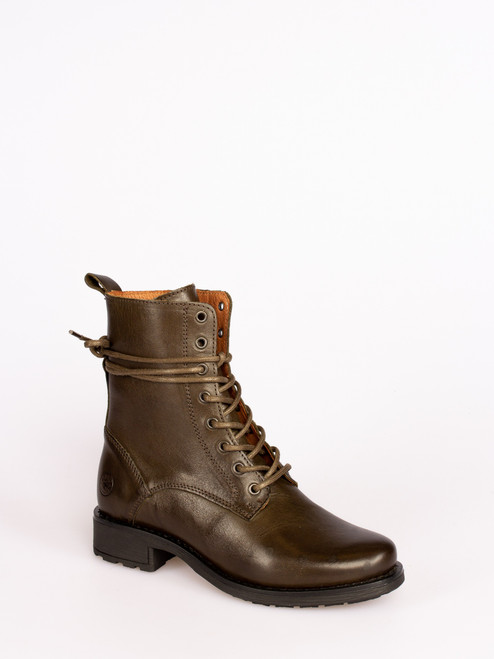 Green Military style Boots