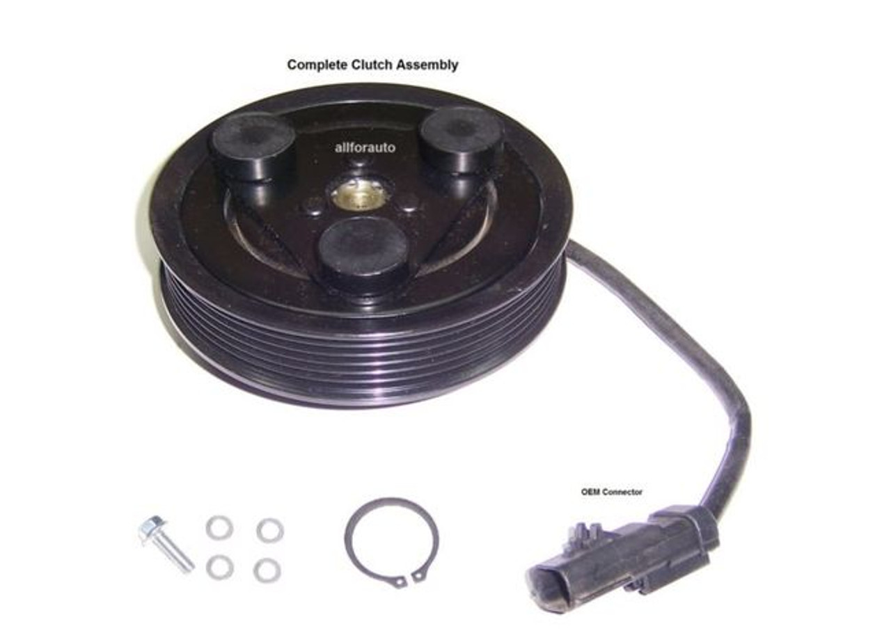 For Jeep Liberty 2006-2007 3.7 Complete AC A//C Repair Kit W// Compressor /& Clutch