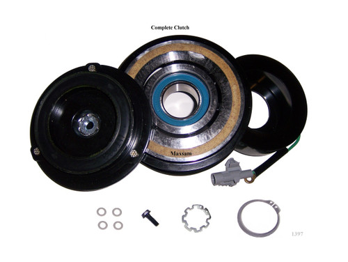 The Clutch listed includes all parts needed to replace your old clutch;