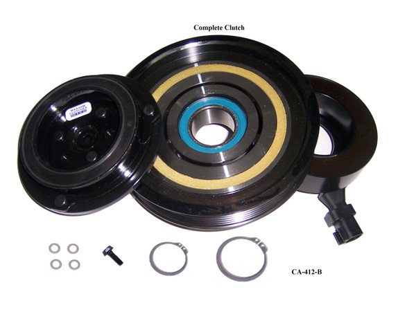 Full A/C Compressor Replacement Part Fits 3.7 Liter