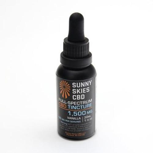Vanilla Flavor CBD Oil Sunny Skies