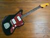 Fender Jazzmaster, '66, Black and Tortoise Guard, 1995